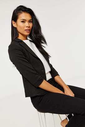 Ardene Knit Blazer with Lace Back