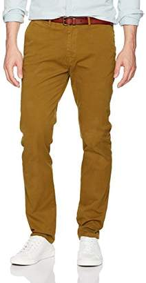 Scotch & Soda Men's Stuart-Garment Dyed Chinos