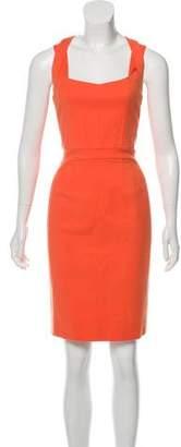 Narciso Rodriguez Sleeveless Woven Dress