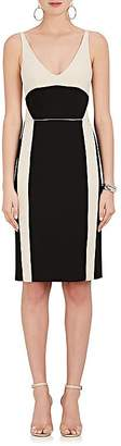 Narciso Rodriguez WOMEN'S COLORBLOCKED WOOL GABARDINE DRESS