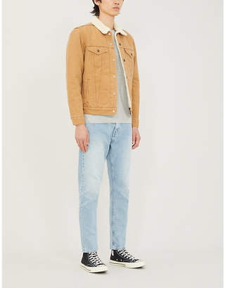 Levi's Type-3 Sherpa and cotton-drill trucker jacket