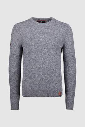 Mens Superdry Marl Upstate Crew Knit