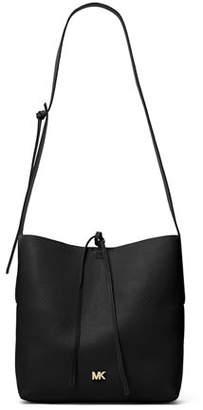 MICHAEL Michael Kors Junie Large Leather Crossbody Messenger Bag