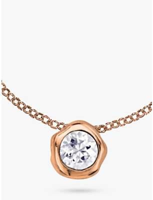 Dower & Hall 18ct Vermeil Topaz Pendant Necklace