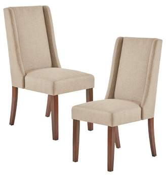 Taye Wing Dining Chair - Taupe (Set of 2)