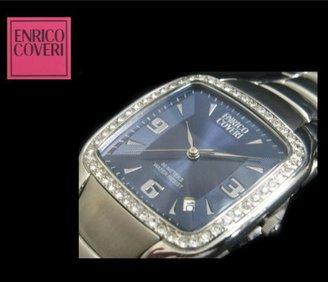 Enrico Coveri エンリコ・コベリ メンズ 腕時計 12501M ブルー[カレンダー表示][正規品]