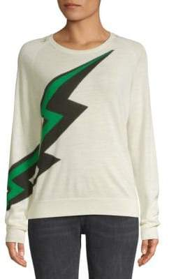 Zadig & Voltaire Rime Graphic Wool Pullover