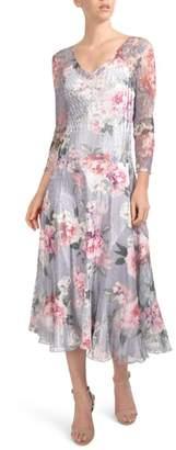 Komarov Charmeuse Midi Dress