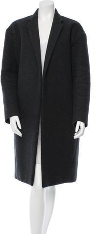CelineCéline Wool Notch-Lapel Coat