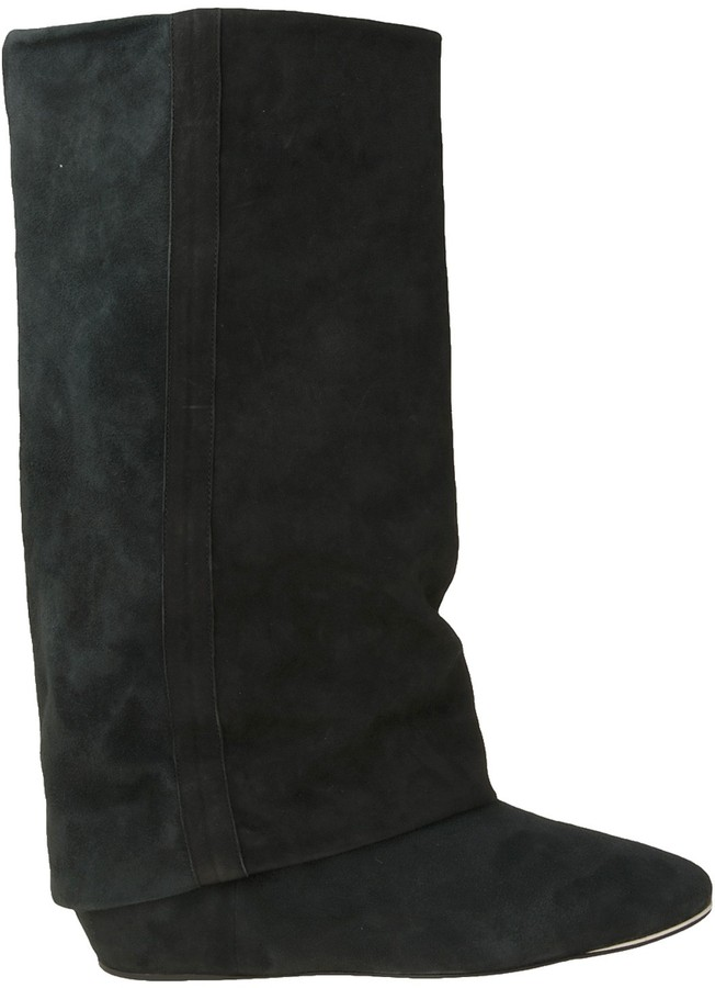 See By Chloe Fold Over Suede Boot