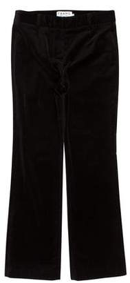 Frame Velvet Cropped Pants