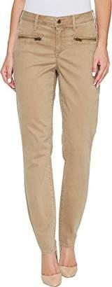 NYDJ Women's Skinny Chino with Zipper