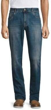 Boglioli Regular-Fit Washed Jeans