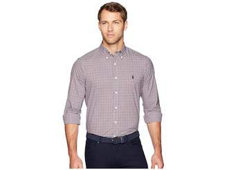 Polo Ralph Lauren Classic Fit Luxury Poplin Men's Clothing
