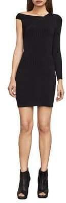 BCBGMAXAZRIA Karli One-Sleeve Sweater Dress