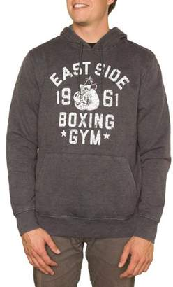 Pop Culture Men's Boxing Gym Long Sleeve Pullover Graphic Hoodie