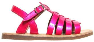 Pom D'Api Patent Leather Sandals