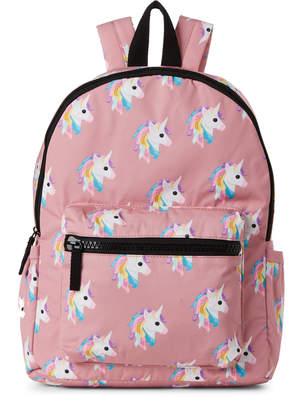T-Shirt & Jeans T Shirt & Jeans Blush Unicorn Nylon Backpack