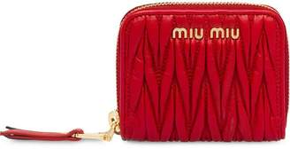 Miu Miu Matelassé Leather Coin Purse