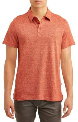 Lee Men's Short Sleeve Textured Knit Polo, Available up to size XL