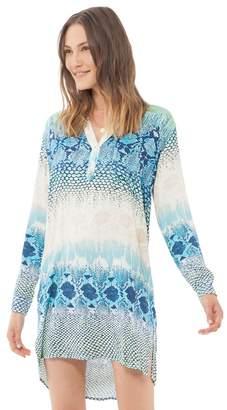 Hale Bob Nadia Rayon Stretch Dress