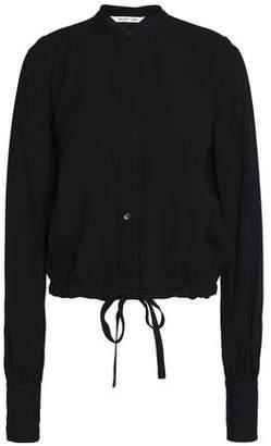 Helmut Lang Gathered Jacquard Shirt