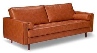 Trent Austin Design Bombay Leather Sofa