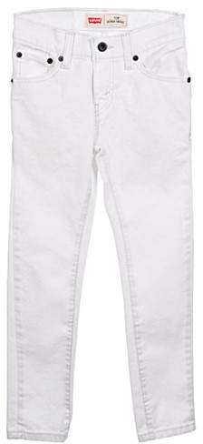 Big Boys' 510 Skinny Jeans (Sizes 8 - 20) - white, 12