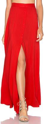 Majorelle Sangria Maxi Skirt