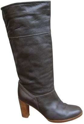 Comptoir des Cotonniers Brown Leather Boots