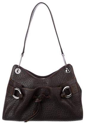 98151f281d47 Lancel Grained Leather Shoulder Bag
