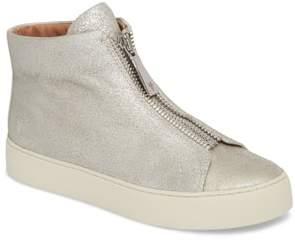 Frye Lena Zip High Top Sneaker