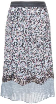 Coach X Keith Haring patchwork skirt