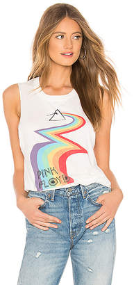 Daydreamer Pink Floyd Rainbow Road Muscle Tank