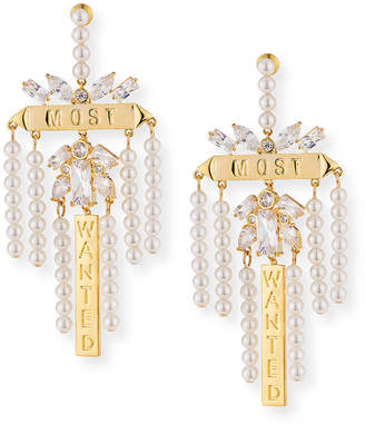 Fallon Monarch Most Wanted Drop Earrings