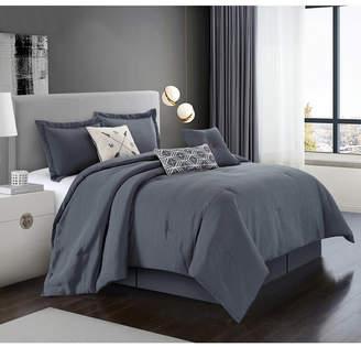 Chandler 7-Pc. Grey King Comforter Set Bedding