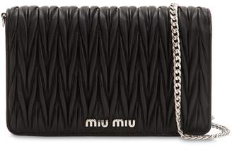 Miu Miu Small Delice Quilted Leather Bag