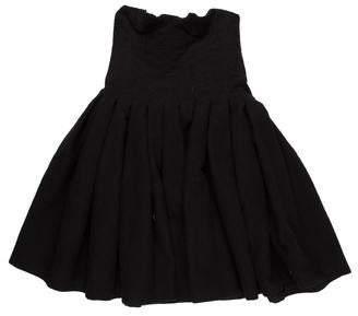 Bottega Veneta Wool Pleated Dress