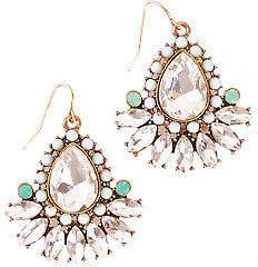NEW Greenwood Designs Womens Earrings Bling Medium Earrings Size OneSize Crystal