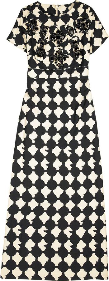 Karta Dot print dress