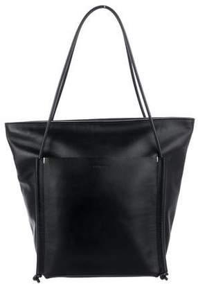 Building Block Leather Shoulder Bag