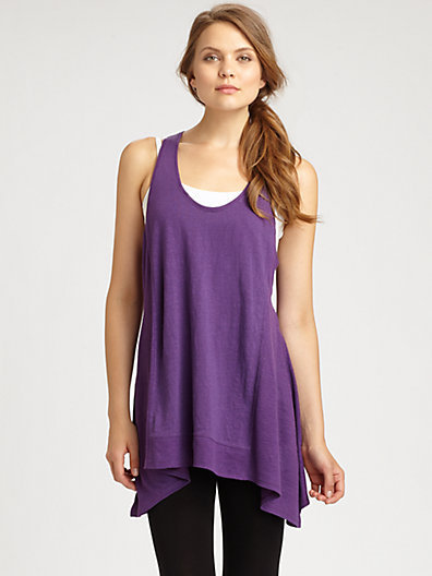 Eileen Fisher Racerback Sleeveless Tunic