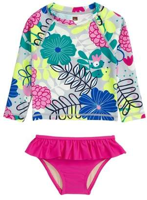 Tea Collection Two-Piece Rashguard Swimsuit