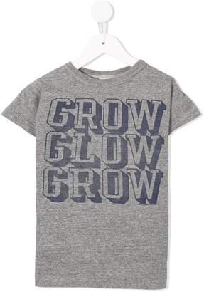 Denim Dungaree printed T-shirt