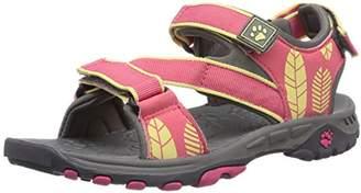 Jack Wolfskin Girls NAVAJO SANDAL G Sports & Outdoor Sandals Pink Size: 8.5