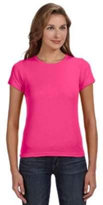 Anvil Ladies' 1x1 Baby Rib Scoop T-Shirt