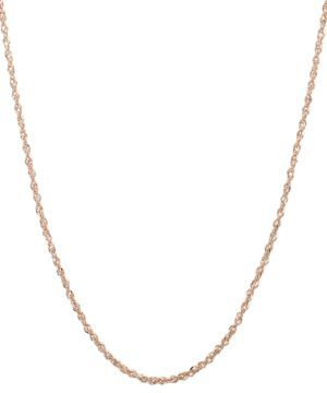 Lord & Taylor 14K Rose Gold Chain $340 thestylecure.com
