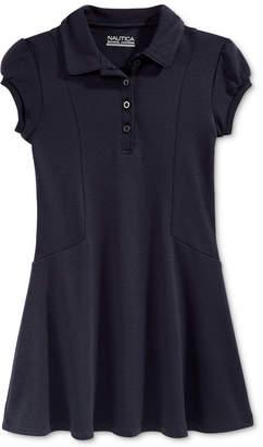 Nautica School Uniform Polo Shirtdress, Big Girls