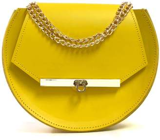 Angela Valentine Handbags - Loel Mini Military Bee Crossbody Bag In Ceylon Yellow