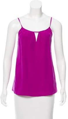 HHH by Haute Hippie Silk Sleeveless Top Discount Brand New Unisex Nice For Cheap Online Cheap Price Wholesale Price ebcfFqjg